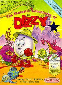 Jaquette de Fantastic Dizzy NES