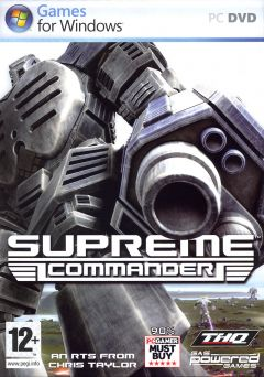 Jaquette de Supreme Commander PC