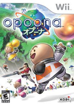 Jaquette de Opoona Wii