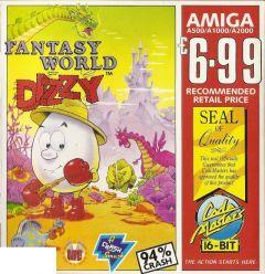 Jaquette de Fantasy World Dizzy Amiga