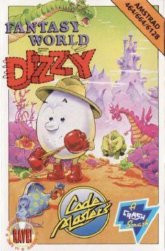 Jaquette de Fantasy World Dizzy Amstrad CPC
