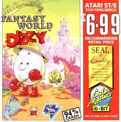 Jaquette de Fantasy World Dizzy Atari ST
