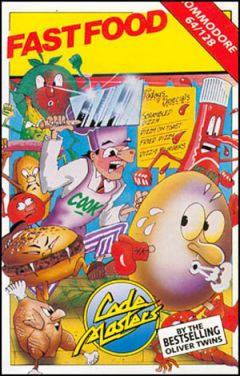 Jaquette de Fast Food Commodore 64