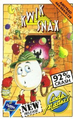 Jaquette de Kwik Snax Amstrad CPC