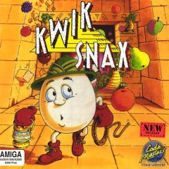 Jaquette de Kwik Snax Amiga