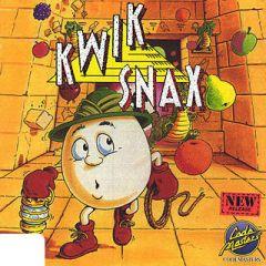 Jaquette de Kwik Snax Atari ST