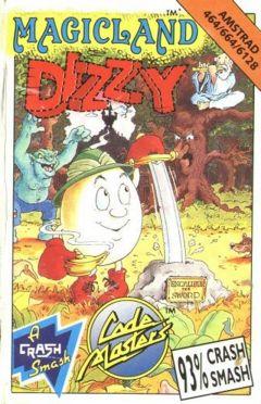 Jaquette de Magicland Dizzy Amstrad CPC