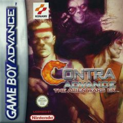 Jaquette de Contra Advance : The Alien Wars EX Game Boy Advance