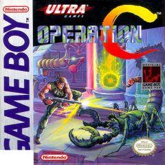 Jaquette de Contra (original) Game Boy