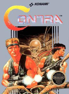 Jaquette de Contra (original) NES