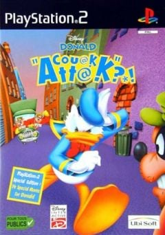 Jaquette de Donald Couak Attack PlayStation 2