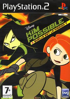 Jaquette de Kim Possible : Quelle est la Mission ? PlayStation 2