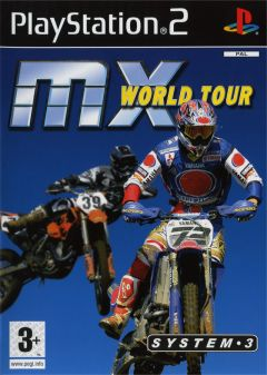 Jaquette de MX World Tour PlayStation 2