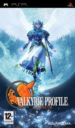 Jaquette de Valkyrie Profile : Lenneth PSP