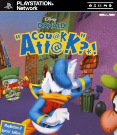 Jaquette de Donald Couak Attack PlayStation 3