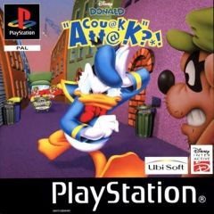 Jaquette de Donald Couak Attack PlayStation