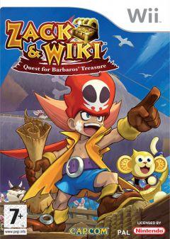 Jaquette de Zack & Wiki : Le Trésor de Barbaros Wii