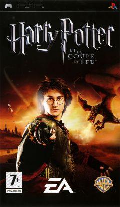 Jaquette de Harry Potter et la Coupe de Feu PSP