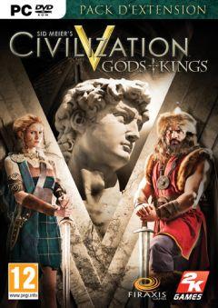 Jaquette de Sid Meier's Civilization V : Gods & Kings PC