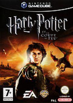 Jaquette de Harry Potter et la Coupe de Feu GameCube