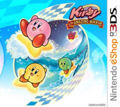 Jaquette de Kirby & the Amazing Mirror Nintendo 3DS