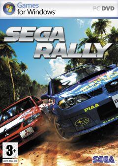 Jaquette de Sega Rally PC