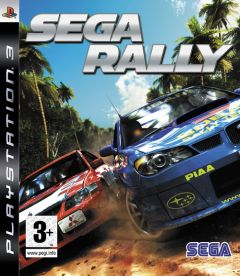 Jaquette de Sega Rally PlayStation 3
