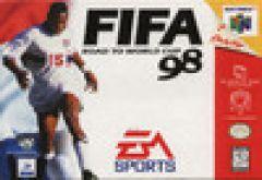 Jaquette de FIFA 98 : En route pour la coupe du monde Nintendo 64