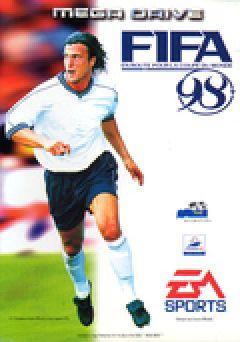 Jaquette de FIFA 98 : En route pour la coupe du monde Megadrive