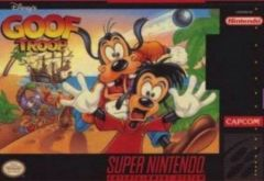 Jaquette de Goof Troop Super NES