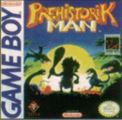 Jaquette de Prehistorik Man Game Boy