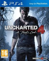 Jaquette de Uncharted 4 : A Thief's End PS4