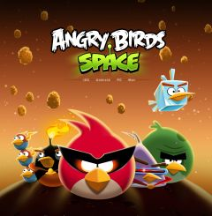 Jaquette de Angry Birds Space iPhone, iPod Touch