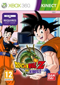 Jaquette de Dragon Ball Z For Kinect Xbox 360