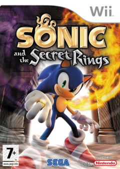 Jaquette de Sonic and the Secret Rings Wii