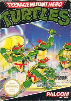 Jaquette de Teenage Mutant Hero Turtles NES
