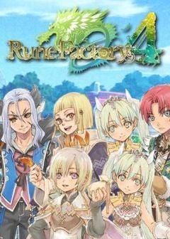 Jaquette de Rune Factory 4 Nintendo 3DS