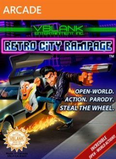 Jaquette de Retro City Rampage Xbox 360