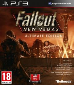 Jaquette de Fallout New Vegas : Ultimate Edition PlayStation 3