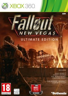 Jaquette de Fallout New Vegas : Ultimate Edition Xbox 360