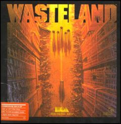 Jaquette de Wasteland Commodore 64