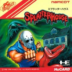 Jaquette de Splatterhouse (original) PC Engine