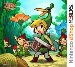 Jaquette de The Legend of Zelda : The Minish Cap Nintendo 3DS