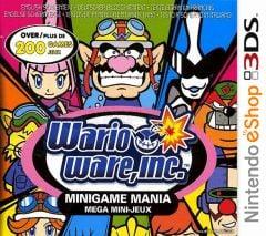 Jaquette de Wario Ware, Inc : Minigame Mania Nintendo 3DS