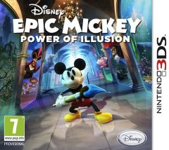 Jaquette de Disney Epic Mickey : Power of Illusion Nintendo 3DS