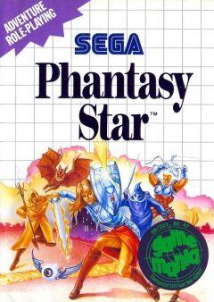 Jaquette de Phantasy Star Master System