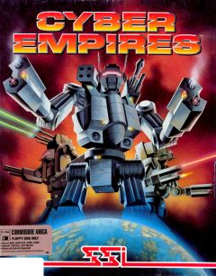 Jaquette de Steel Empire Amiga