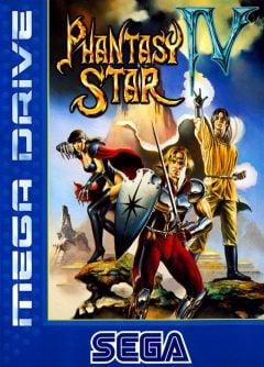 Jaquette de Phantasy Star IV Mega Drive