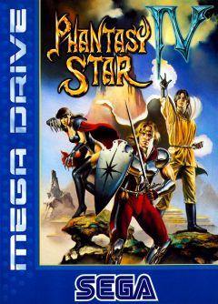 Jaquette de Phantasy Star IV Megadrive
