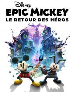 Jaquette de Epic Mickey : Le Retour des Héros PC